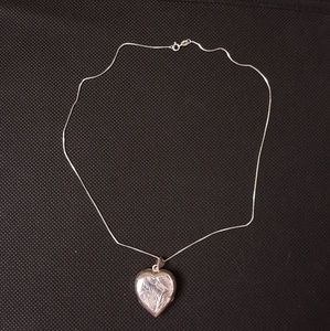 """Heart of the Ocean"" style Silver Locket"
